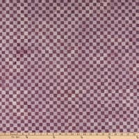 Island Batik Check It Out Check Violet