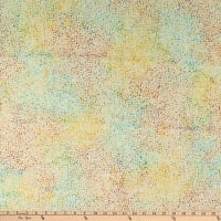 Island Batik Ditty Mini Dots Custard