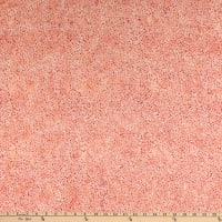 Island Batik Gypsy Rose Mini Dots  Coral