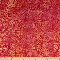 Island Batik Soul Song Circles Sunset