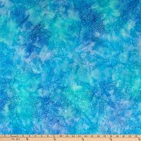 Island Batik Soul Song Speckle Medium Lagoon