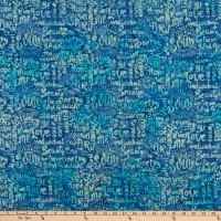 Island Batik Soul Song Speak Bluebird
