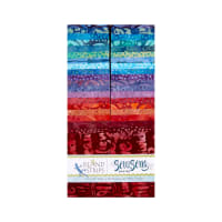 "Island Batik Soul Song 40 Piece 2.5"" Strip"