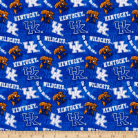 NCAA Kentucky Wildcats 1178 Tone on Tone Blue/White/Orange/Black