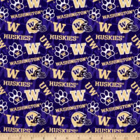 NCAA- Washington 1178 Tone on Tone Purple/Gold/White