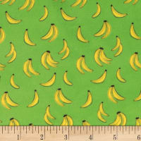 Michael Miller Minky Banana Obsession Multi