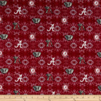 NCAA- Alabama 1191 Tye Dye Flannel Red/White/Gray