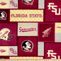 NCAA Florida State Seminoles Patch Fleece