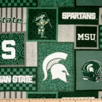 NCAA Michigan State Spartans 1177 Patch Fleece