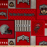NCAA Ohio State Buckeyes 1177 Patch Fleece