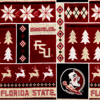 NCAA Florida State Seminoles 1182 Ugly Sweater Fleece