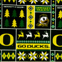 NCAA Oregon Ducks 1182 Ugly Sweater Fleece