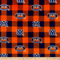 NCAA-Auburn 1190 Buffalo Plaid Fleece
