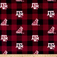 NCAA Texas A&M Aggies 1190 Buffalo Plaid Fleece