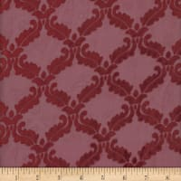 Diva Diamond Burnout Velvet #13 Merlot