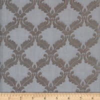 Diva Diamond Burnout Velvet Sheer #6 Pewter