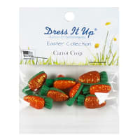 Easter Carrot Crop 13ct Button Pack