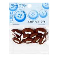 Footballs Button Pack