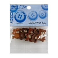 Dress It Up Embellishment Buttons 3pc - Stuffed with Love