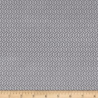 P&B Textiles Gray Matters Rope Silver