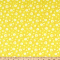 P&B Textiles Super Spacey Dots Yellow