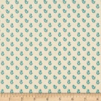 P&B Textiles Sarah French Berry Blue