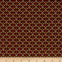 P&B Textiles Sarah French Geometric Red