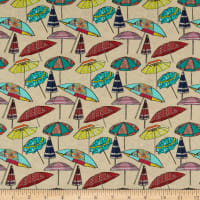 STOF France Plage Umbrellas Multicolor
