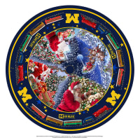 NCAA- University of Michigan Christmas Tree Skirt
