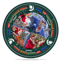 NCAA- Michigan State Christmas Tree Skirt