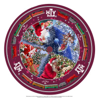 NCAA- Texas A&M Christmas Tree Skirt