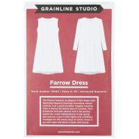Grainline Studio Farrow Dress Sizes 0-18