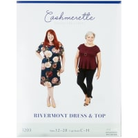 Cashmerette Patterns Rivermont Dress and Top