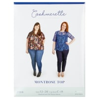 Cashmerette Patterns Montrose Top