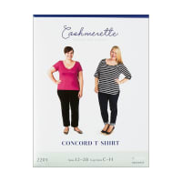 Cashmerette Patterns Concord T-Shirt