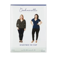 Cashmerette Patterns Dartmouth Top