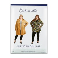 Cashmerette Patterns Chilton Trench Coat Pattern
