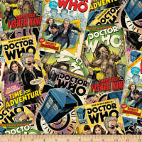 Bbc Doctor Who Comic Book Toss