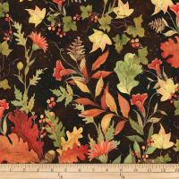Susan Winget Fall Foliage Autumn Red
