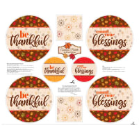Patrick Lose Autumn Palette Table Toppers Multi