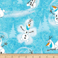 Disney Olaf Winter Toss Cotton