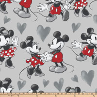 Disney Fleece Fun With Mickey And Minnie Multi