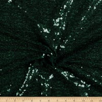Glitz Sequins Stretch Mesh Green