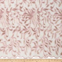 Michelle Accent Petal Embroidery Blush Pink/Gold