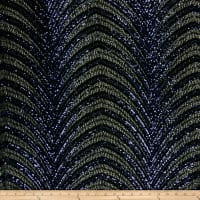 Art Deco Gatsby Sequins Navy