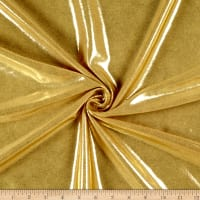 All Over Fog Foil Nylon Spandex Tricot Gold/Gold