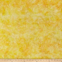 Wilmington Batiks Swirly Dots Yellow