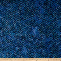 Wilmington Batiks Chevron Blue