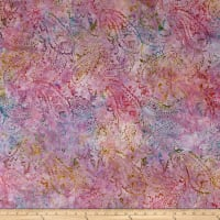 Wilmington Batiks Delicate Paisley Purple/Multi
