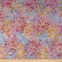 Wilmington Batiks Graphic Floral Multi